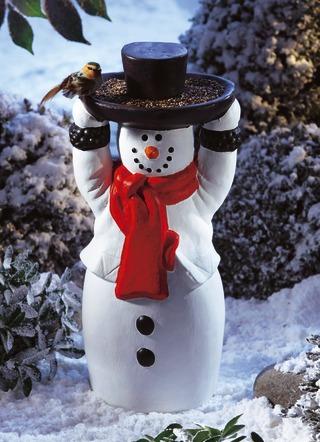Winterlicher garten garten bader - Bader weihnachtsdeko ...