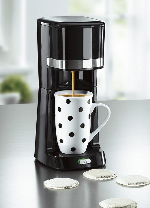 coffeemaxx single kaffeemaschine mit keramik und thermobecher elektrische k chenger te bader. Black Bedroom Furniture Sets. Home Design Ideas
