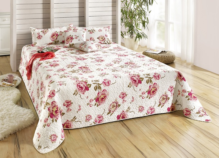 dreams tagesdecke blumen verschiedene ausf hrungen. Black Bedroom Furniture Sets. Home Design Ideas