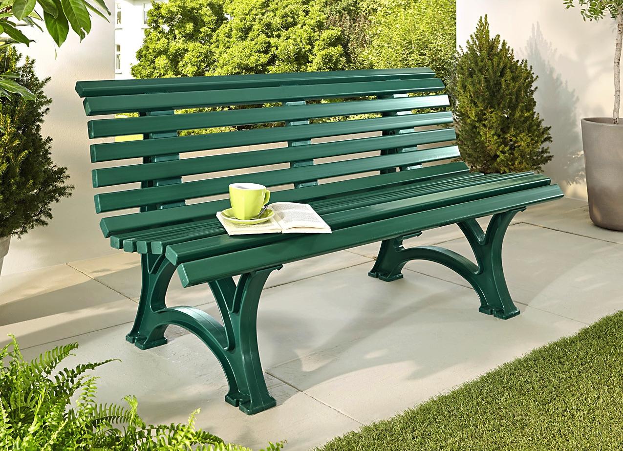 gartenbank kunststoff helgoland 175639 eine. Black Bedroom Furniture Sets. Home Design Ideas