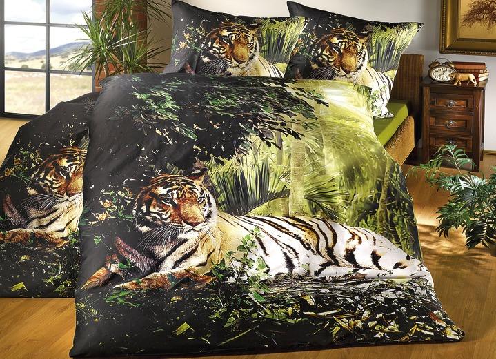 Bettwäsche Garnitur Tiger Bettwäsche Bader