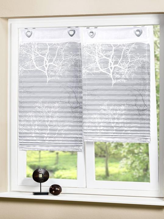 plissee rollo ste gardinen bader. Black Bedroom Furniture Sets. Home Design Ideas