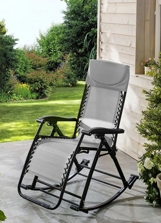 Vario-Schaukelstuhl in verschiedenen Farben - Gartenmöbel | BADER