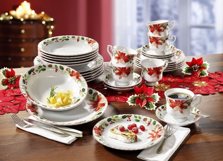 Porzellan Weihnachten.Porzellan Weihnachten Exklusives Markenporzellan Bader
