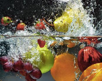 Leckeres Rezept mit frischen Früchten
