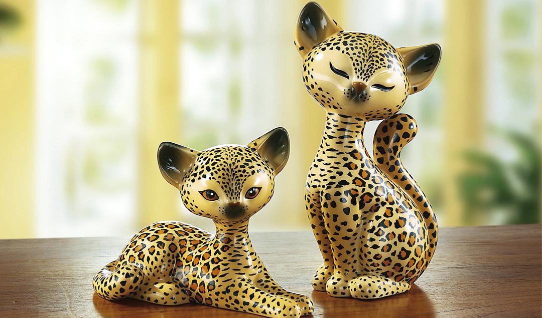 """""""Goebel"""" Katze """"Leopard Kitty"""", verschiedene Ausführungen"""