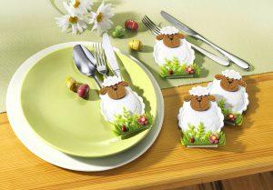zur Tischdeko - geschmackvolle Osterdeko