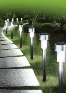 stimmungsvolle Solar-Steckleuchten, 10er-Set - Freiluftparadies