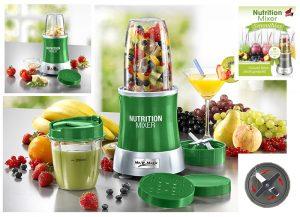 Nutrition Mixer, 9-teilig in 2 Farben - WM-Party-Ideen