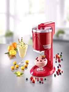 Softeismaschine im nostalgischen Retro-Design für leckeres, selbstgemachtes Eis - Selbstgemachte Bowle