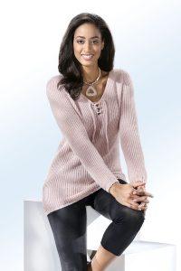 Pullover in 6 Farben mit Alpaka in Wollweiss - Natürliche Materialien Kleidung