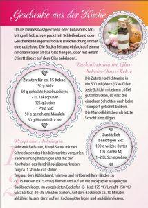 Backmischung im Glas: Schoko-Nuss-Kekse - Geschenkideen aus der Küche