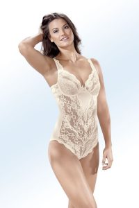 Sassa Body mit Elastikspitze - Dessous-Trends