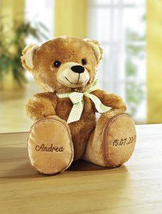 Kuschelweicher Teddybär zum Liebhaben - Valentinstag Geschenk-Ideen