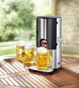 Bierkühler für alle gängigen 5-Liter-Fässer - WM-Party-Ideen