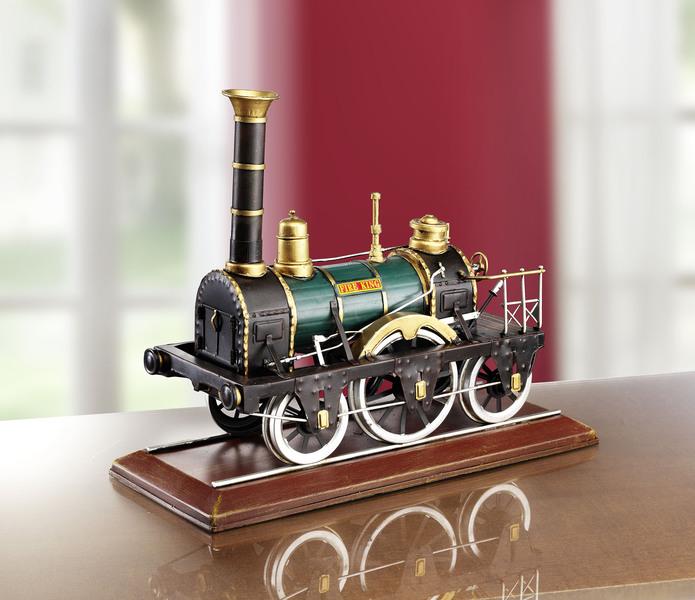 Die Lokomotive Adler war eine der ersten deutschen Dampflokomotiven - Modellautos sammeln