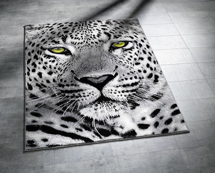 Brücken und Teppiche im Leoparden-Dessin - Einrichtungstrends 2019