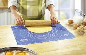 Rutschfeste Silikon-Ausrollmatte - Rezepte zu Ostern