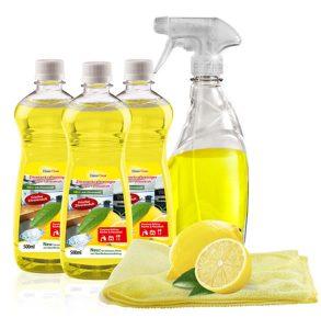 Zitronenreiniger-Set, 5-teilig - Putzen ohne Chemie