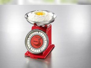 Küchenwaage im Retro-Design - Rezepte zu Ostern