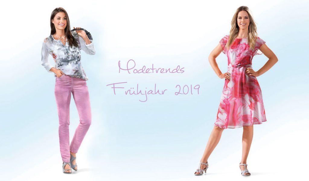Modetrends Frühjahr 2019
