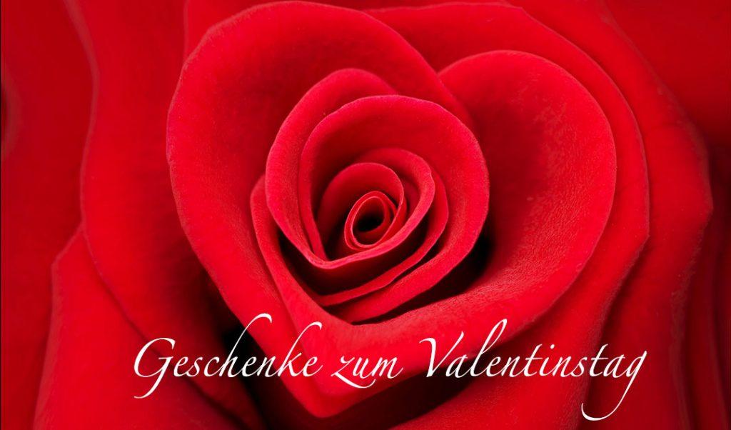 Geschenk an valentinstag