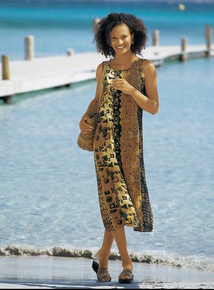 Strandkleid in hochwertiger Webqualität - Strandbekleidung