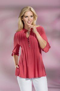Topmodische Shirt-Tunika - Mode für Mollige