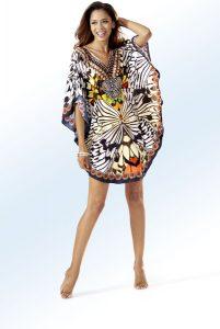 Tunika mit Schmucksteinchen - Mode für Mollige