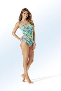Sunflair Badeanzug mit Zierringen - Strandbekleidung