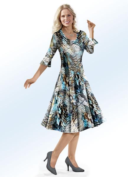 ELENA EDEN Kleid - Mode für Mollige