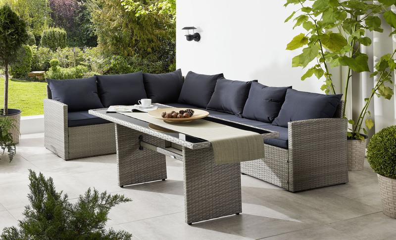 Loungeset Lanzarote - Gartenmöbel-Trends 2019