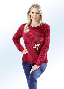 Pullover mit hübscher Stickerei - Modetrends Herbst Winter 2017/18