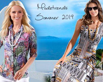 Die heißesten Modetrends Sommer 2019