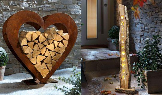 """Dekorationen für Ihren herbstlichen und winterlichen Garten"""" a href="""""""""""