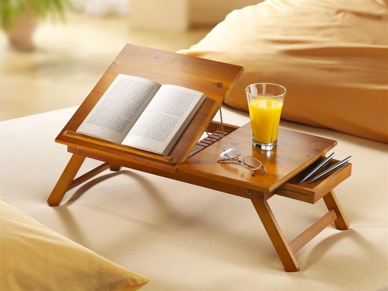 Bett-Serviertablett - Tipps für Zuhause