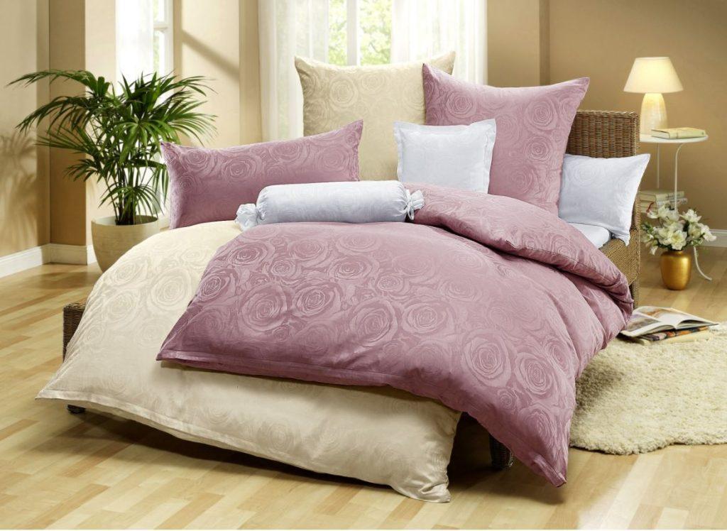 Hochwertige Damast-Bettwäsche