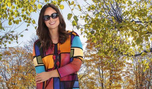 Mode für mollige Frauen ab 50