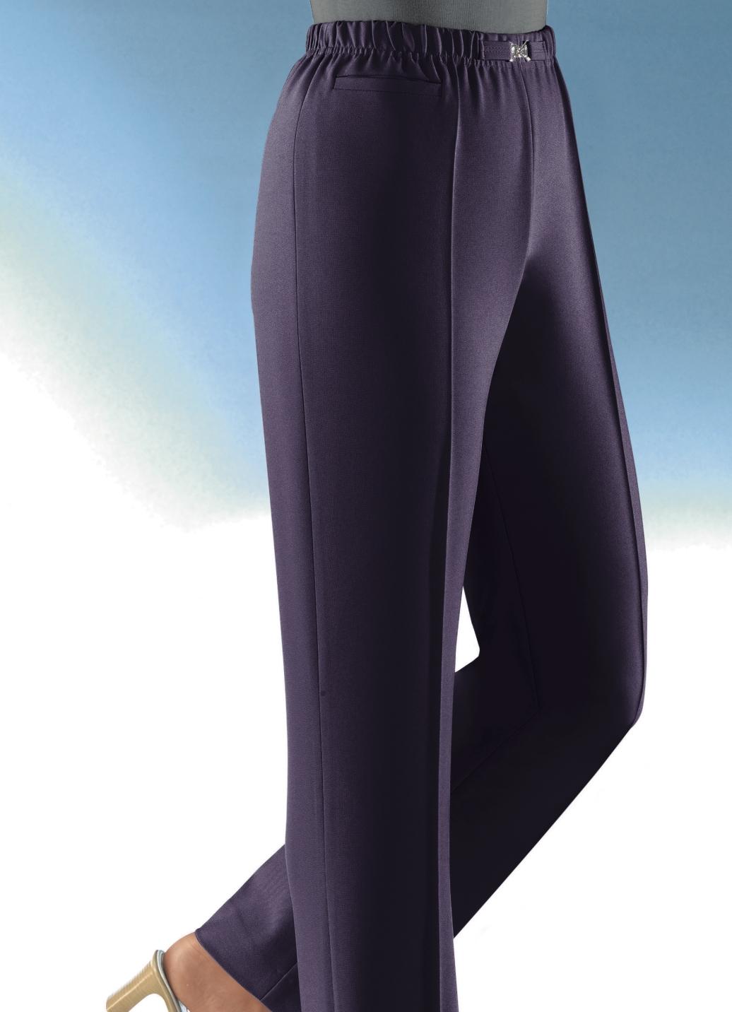 Hose in Schlupfform in 10 Farben Pflaume Größe 20 Damen Preisvergleich