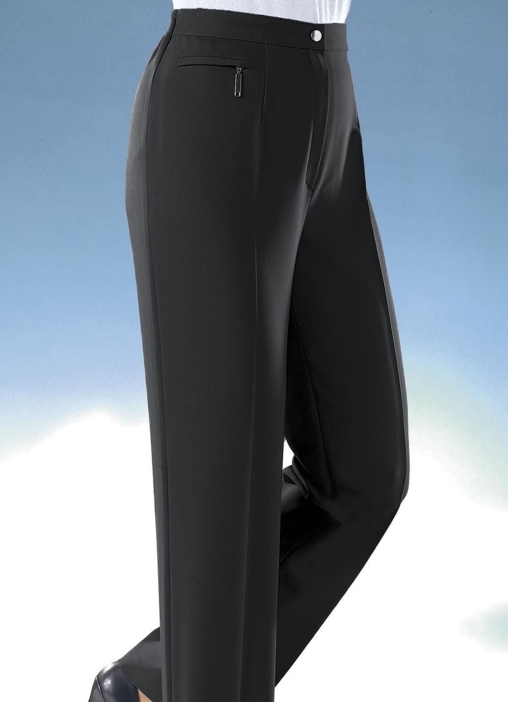 Komforthose  Schwarz Größe 50 Damen Preisvergleich
