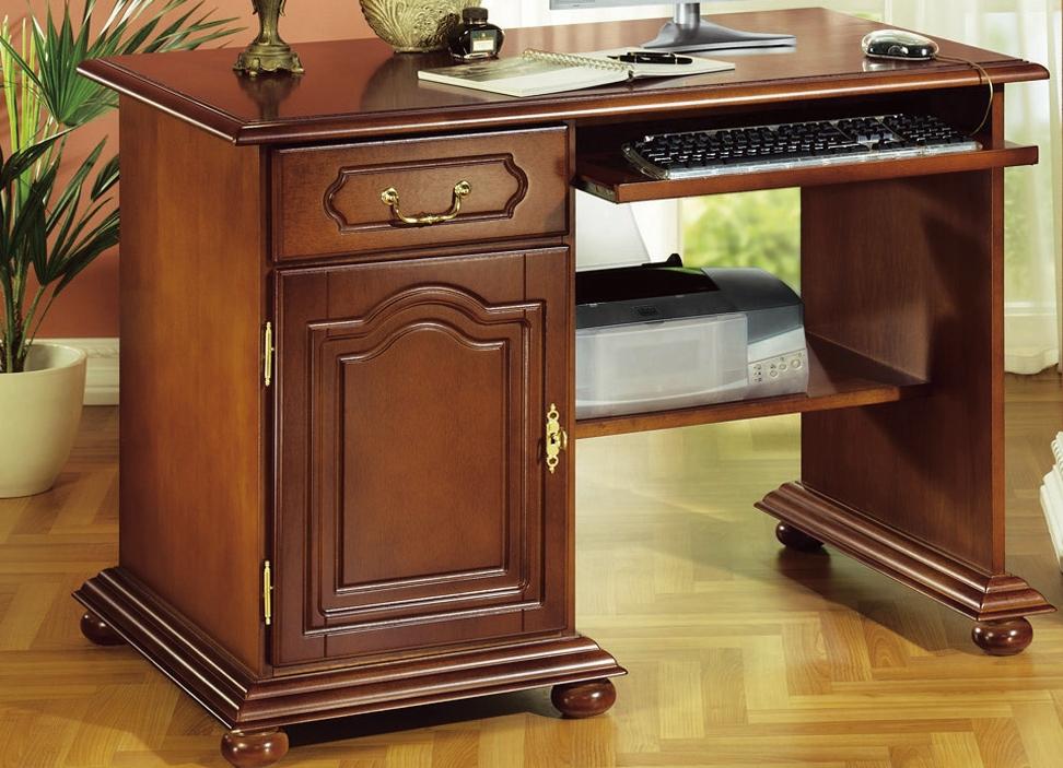 computer schreibtisch mit tastaturauszug g nstig kaufen. Black Bedroom Furniture Sets. Home Design Ideas