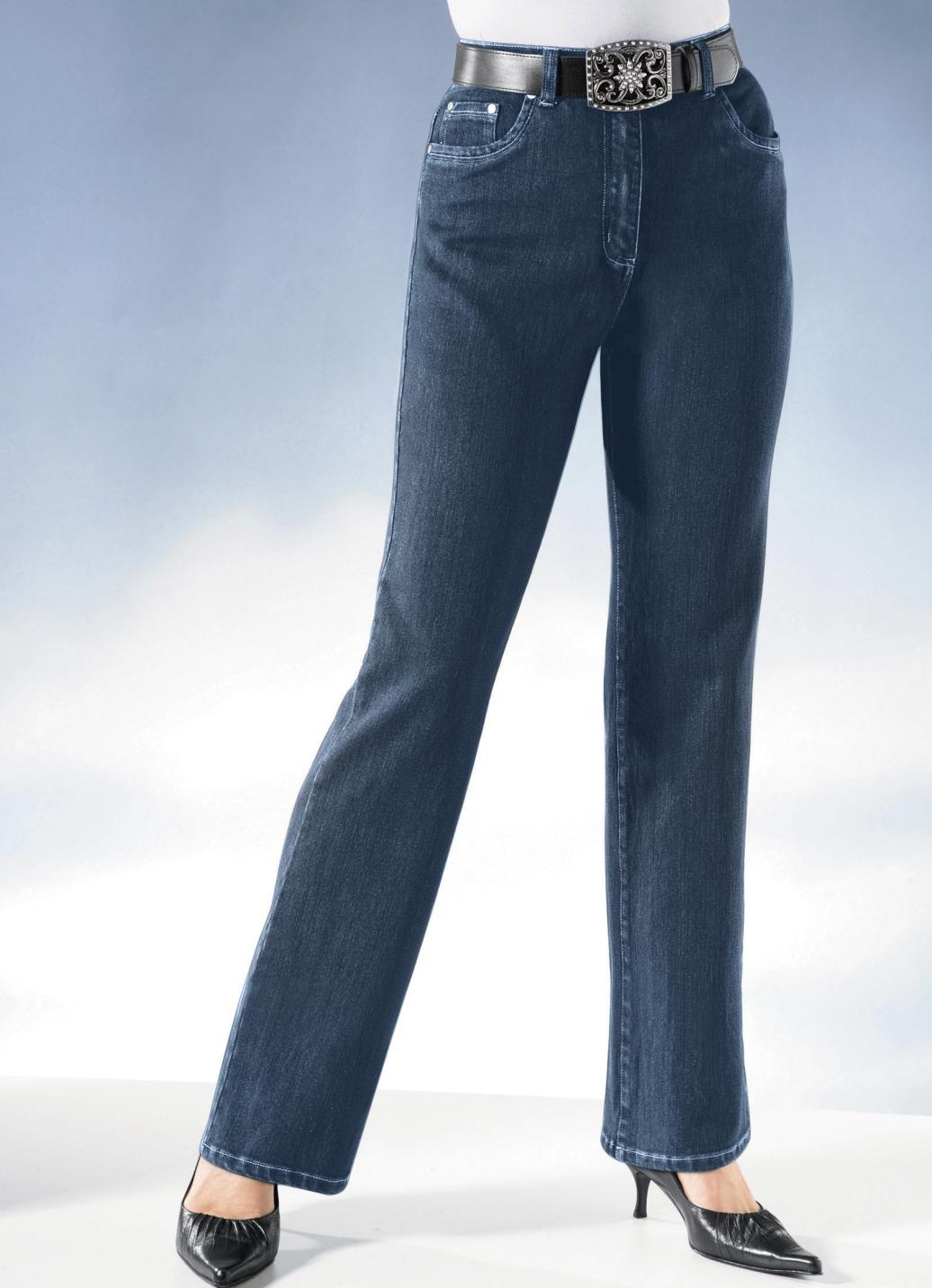 Jeans mit Gürtel   Jeansblau Größe 88 Damen Preisvergleich