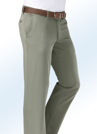 """Francesco Botti""-Hose aus Gabardine in 3 Farben"