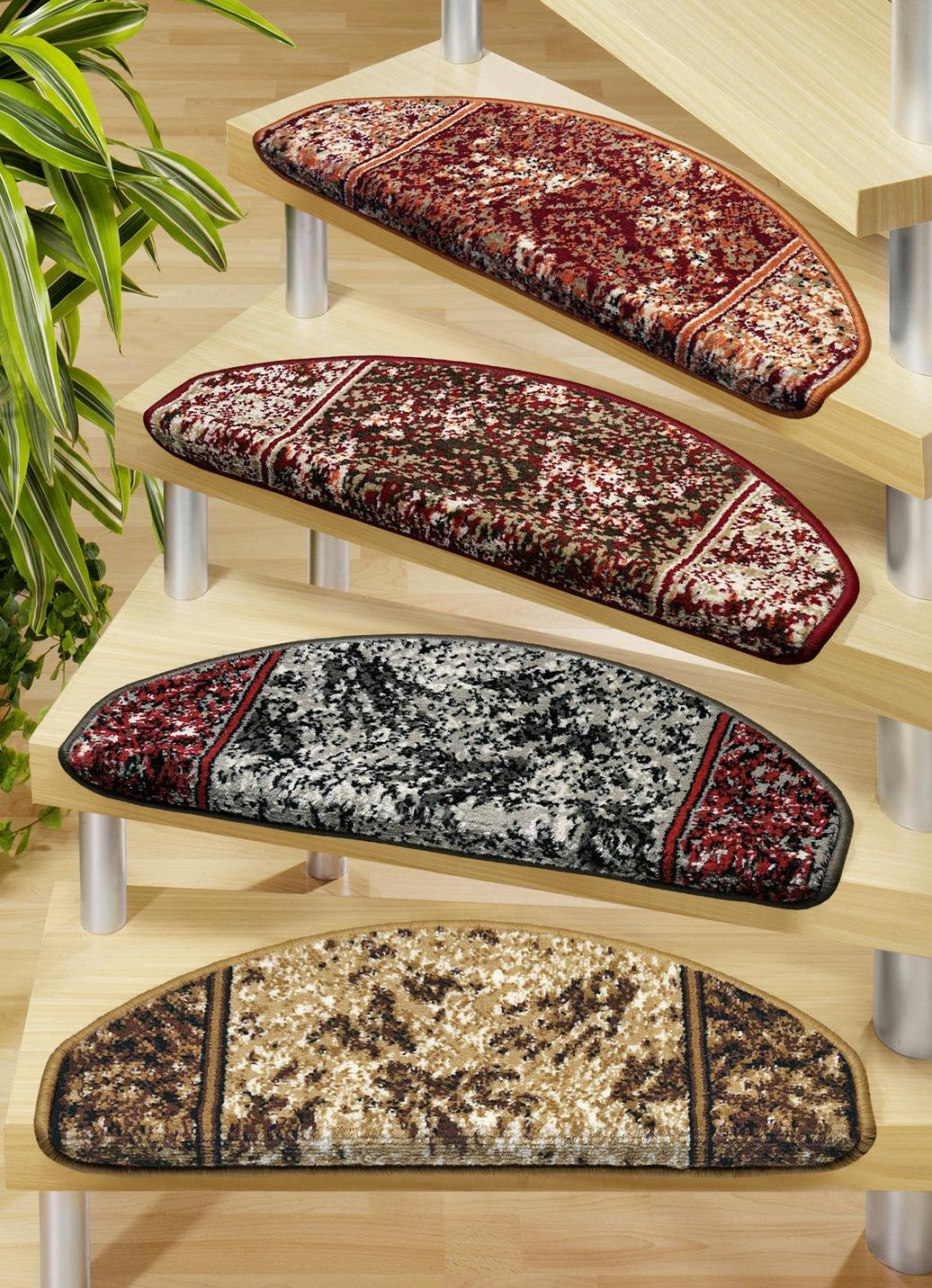Stufenmatten  Größe 151 (Stufenmatten 2er-Pack) Rot Preisvergleich