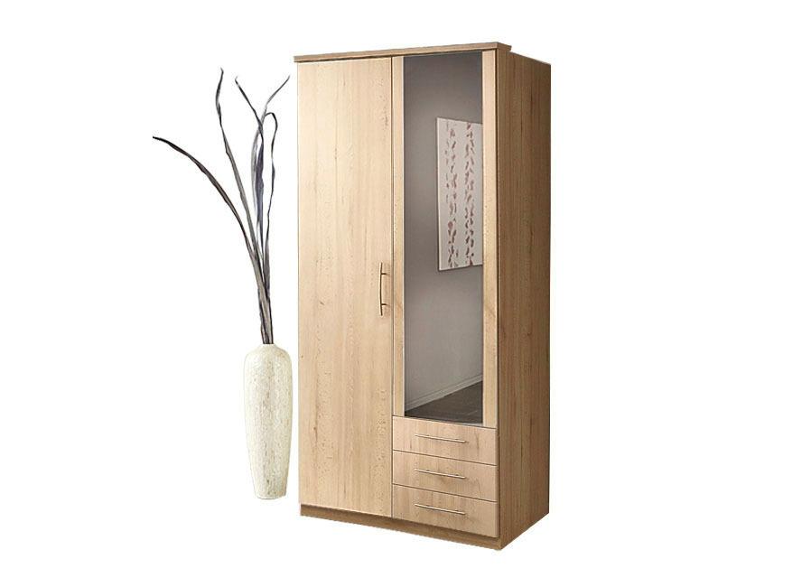 Schlafzimmermöbel in verschiedenen Ausführungen Drehtürenschrank 2-türig Eiche-Sonoma im Preisvergleich