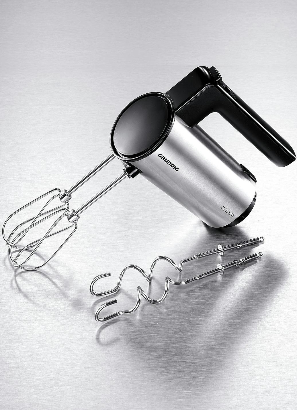 Rührgerät Handmixer Mixer Handrührgerät Küchenmaschine Grundig HM7680 Edelstahl