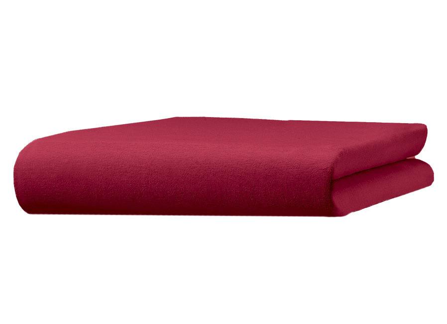 irisette Mako-Jersey-Spannbetttuch  Größe 131 (1 Spannbetttuch 100/200 cm) Bordeaux Preisvergleich