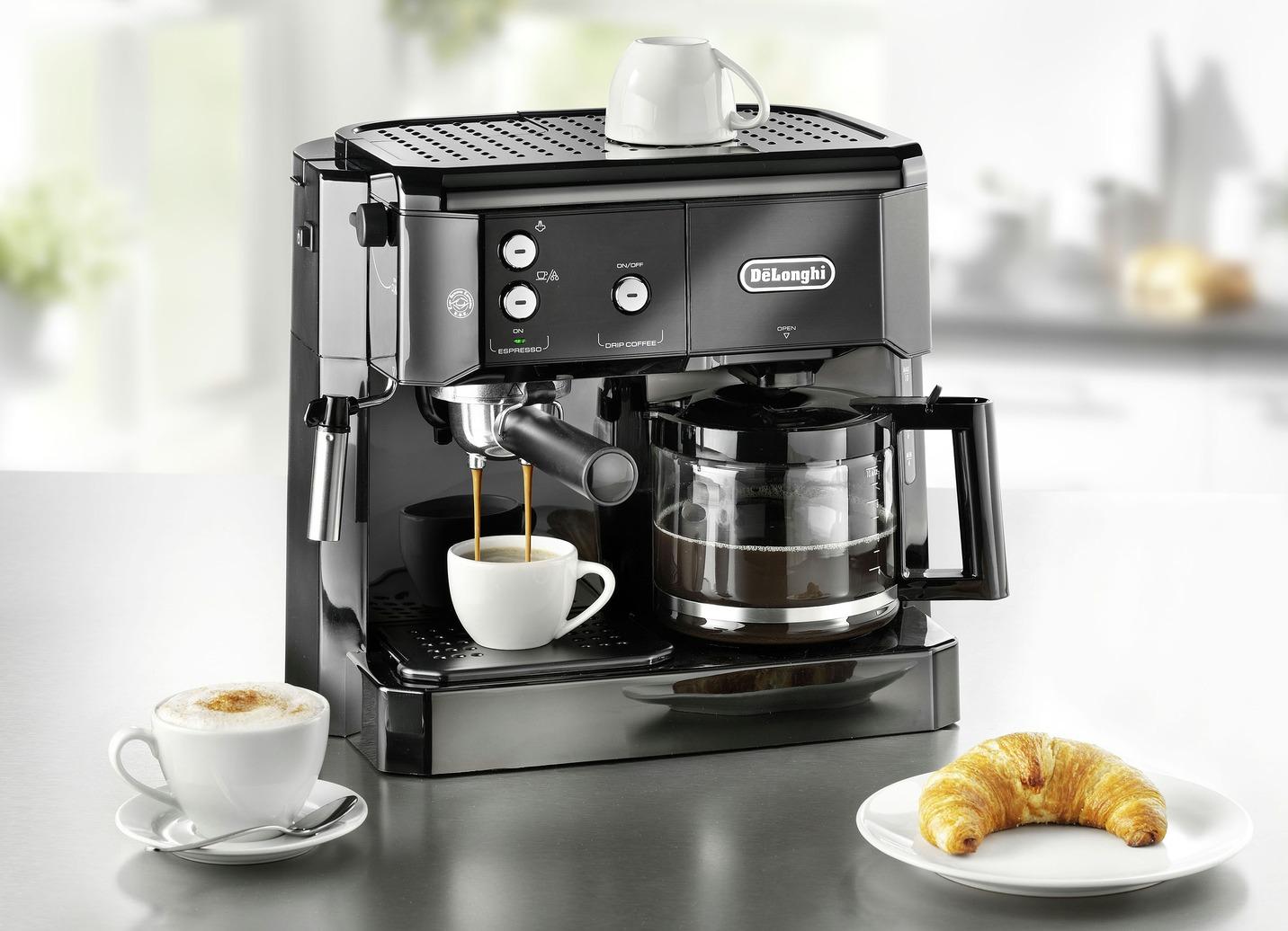 De?Longhi BCO411.B/BCO421.S Kaffee-/Espressomaschine Schwarz Preisvergleich