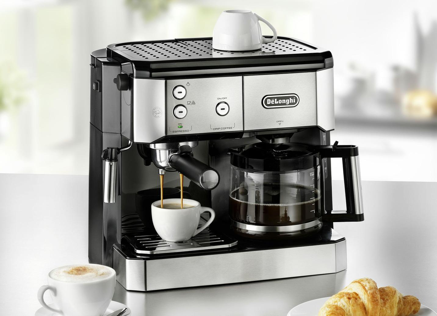 De?Longhi BCO411.B/BCO421.S Kaffee-/Espressomaschine Edelstahl Preisvergleich