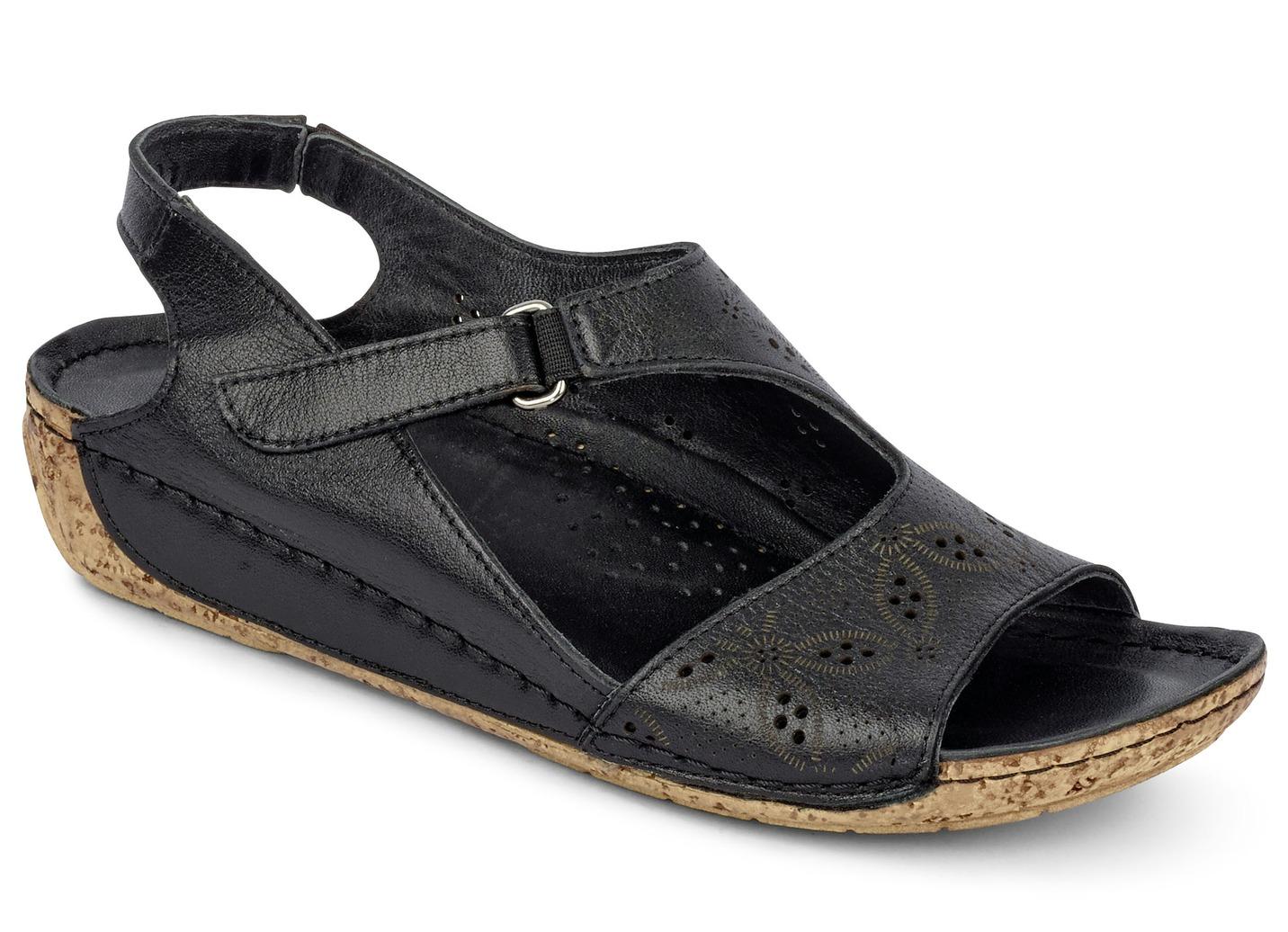 Sandalette  Weite G Schwarz Größe 39 Damen Preisvergleich